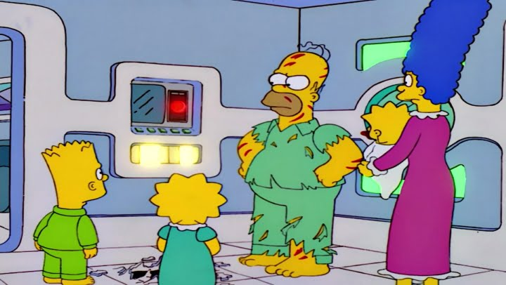 Risks of Smart Home Technology - Funny Simpsons spoof of 2001 Space Odyssey