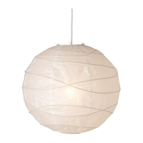 Ikea Regolit Paper Pendant Lamp Shade