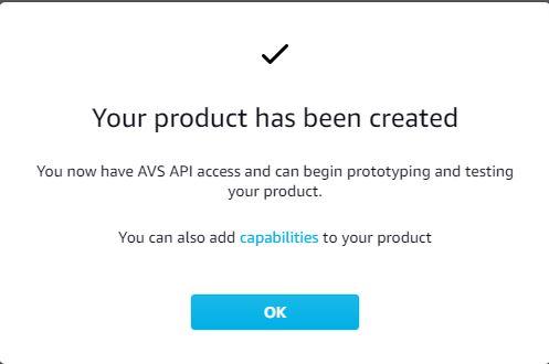 Setting up Amazon Developer Tools to make an Amazon Alexa