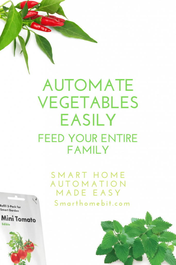 How to Automate vegetables for your Family