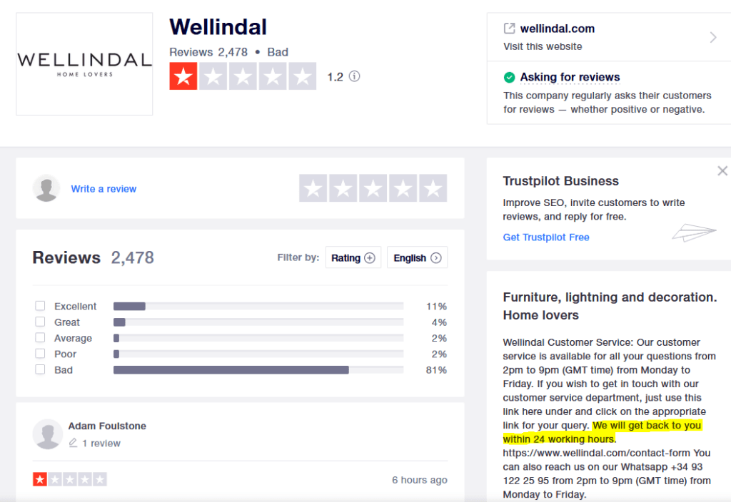 Wellindal/Konstilo Review - STAY AWAY