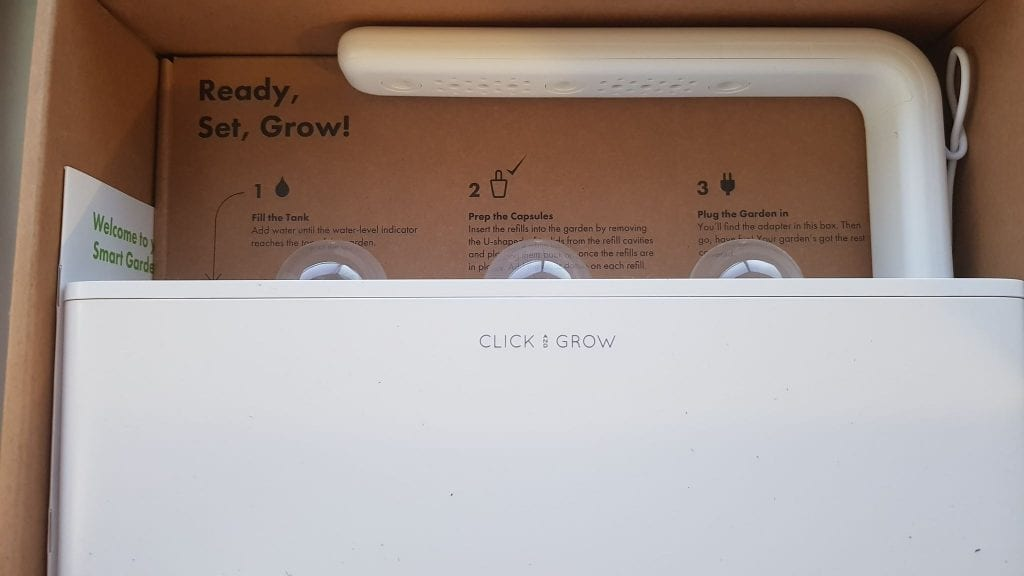How big is the Click and Grow? Looks pretty small!