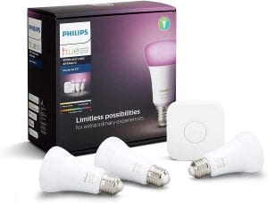 Philips White Hue and Color Ambiance Starter Kit