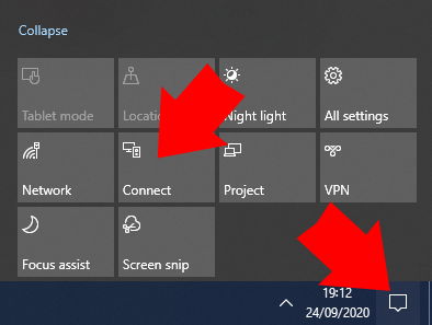 How to cast from Windows 10 to Roku